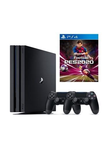 Sony Sony PS4 Pro 1 Tb Oyun Konsolu + 2. PS4 Kol + PS4 Pes 2020 ( Eurasia Garantili ) Renkli